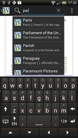 Wiki Encyclopedia + Offline Android